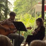Duet w. one of my students at Fine Arts Association in Willoughby!